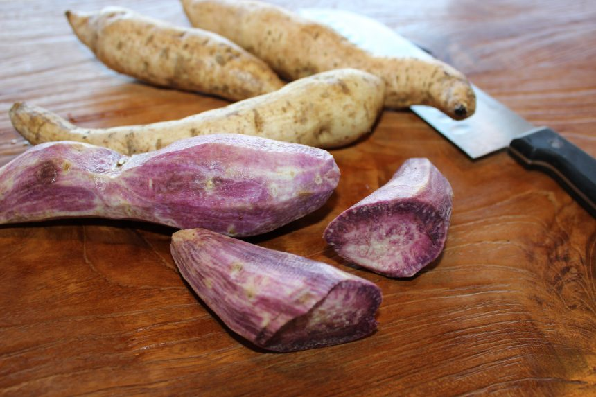 Study Shows Purple Sweet Potatoes to be a Powerful Cancer Fighter