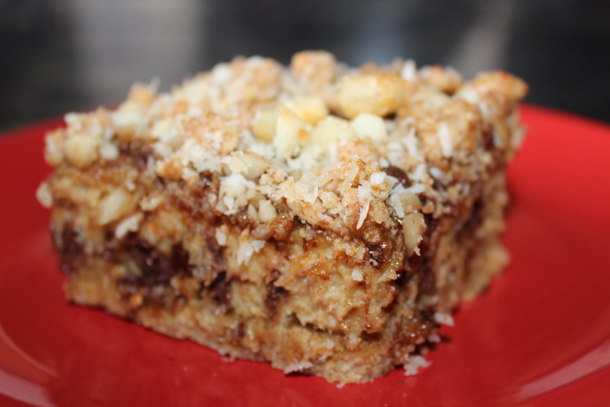 Fully Loaded Banana Coffee Cake