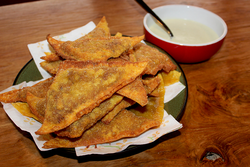 Purple Potato Curry Samosas