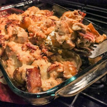 Recipe Try Out: Loaded Potato and Buffalo Chicken Casserole