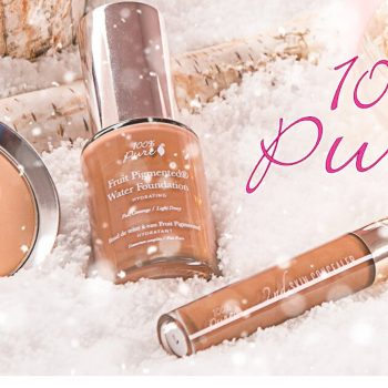 Review – Non-Toxic Cosmetics – 100% Pure Brand Fruit Pigment Cosmetics