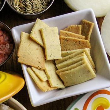 Grain-Free Almond Flour Crackers