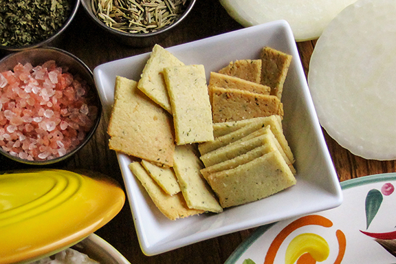 Grain-Free Almond Flour Crackers